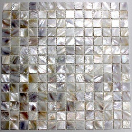 Carrelage Mosaique En Nacre Sol Et Mur De Douche Et Salle De Bain