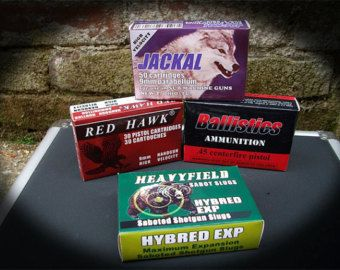 Resident Evil Ammo Boxes And First Aid Label Digital Download