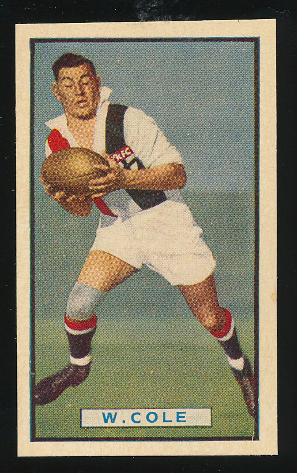 1939 Allens Footballers Card Billy Cole St Kilda Saints Rare Error Card Vfl 12 00 St Kilda Australian Football Football Cards