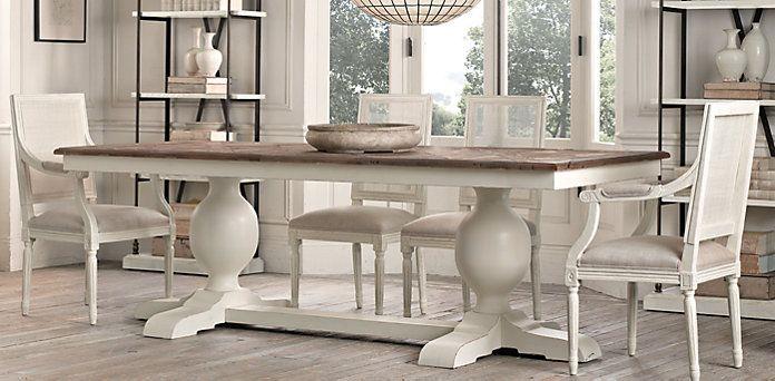 Baroque Parquet Dining Table  Restoration Hardware Starting At Unique Restoration Hardware Dining Room Sets Inspiration Design