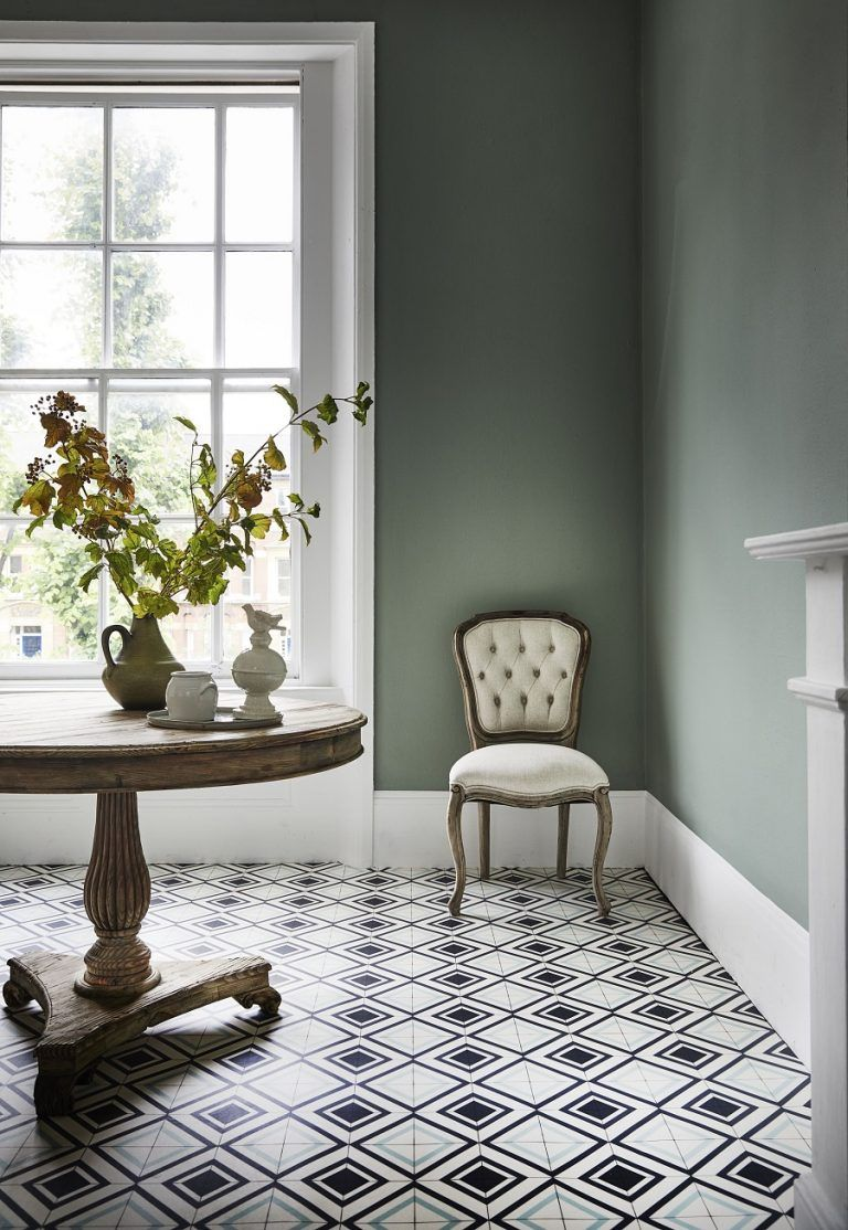 Fake it with patterned vinyl floor tiles floor tile