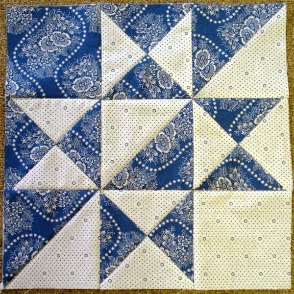 ::April 2014 Second Saturday Sampler Block:: on second viewing, decided I like the crisp look of ...