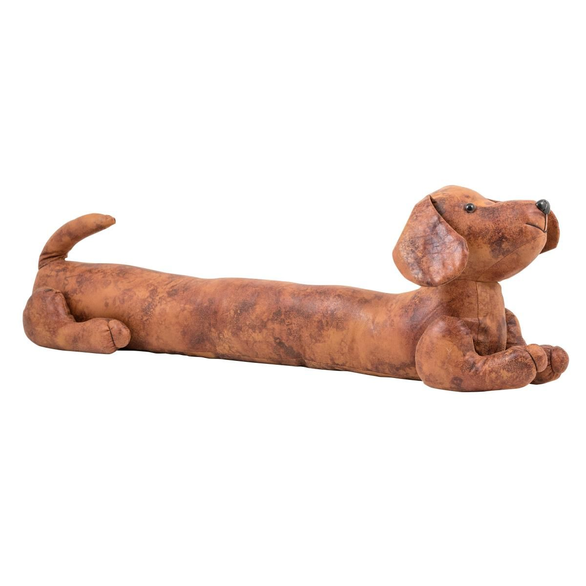 These cat and dog faux leather draught excluders are a fun addition ...