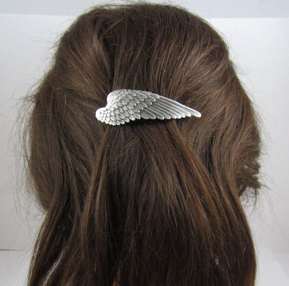Wing French Barrette Hair Clip Fashion Jewelry