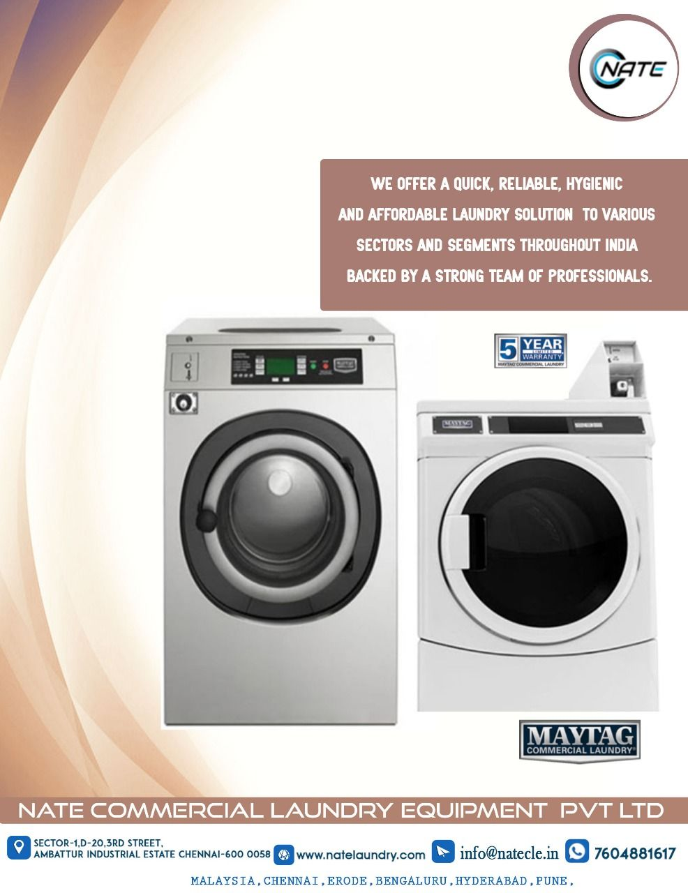 Imported Maytag Commercial Laundry Machine For Sale Maytag