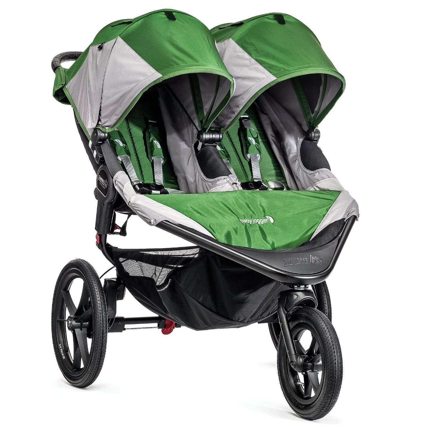 The Baby Jogger Summit X3 Double Stroller offers extraordinary execution and mobility on any landscape while
