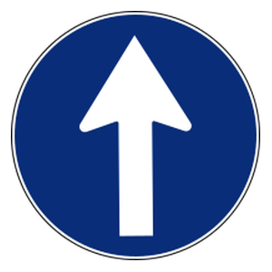 Continue Straight On Traffic Signs All Traffic Signs Traffic