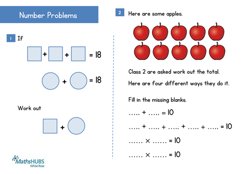 Reasoning - Problem Solving - Number (KS1) and Fractions (KS2 ...