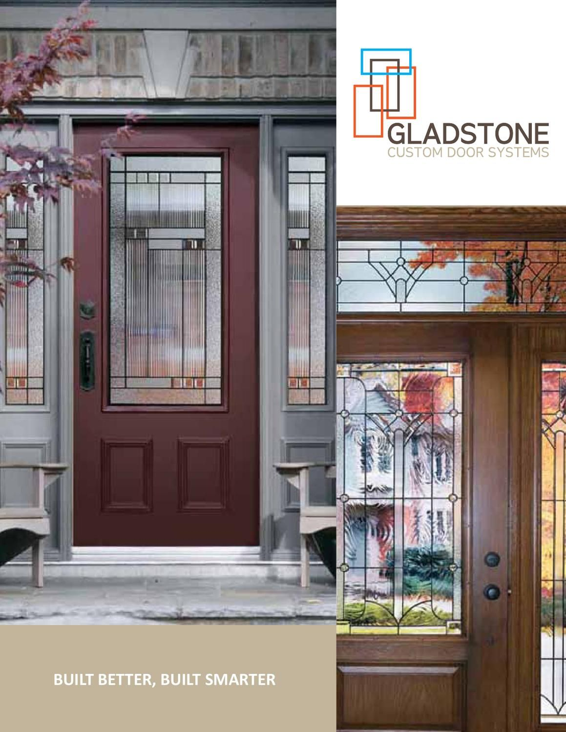 Gladstone Doors Catalog A catalog of our designs and colors we offer custom made entry & Gladstone Doors Catalog | Gladstone Catalog and Doors