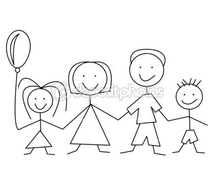 Kreslene Obrazky Rodina Hledat Googlem Family Drawing Family Picture Cartoon Family Cartoon