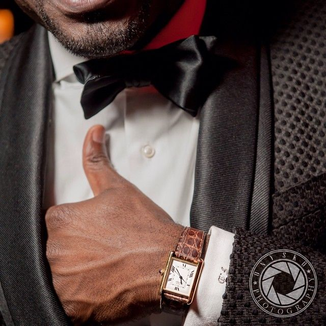 Cartier Tank Louis. Nice wrist shot.