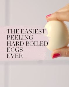How to Peel a Hard-Boiled Egg Twice as Fast