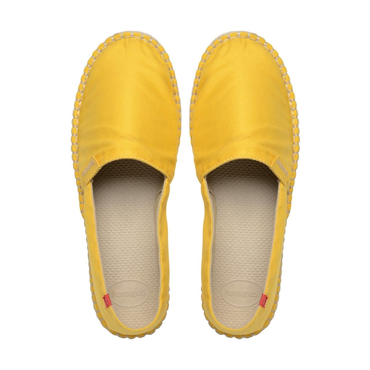 2b7b81234 HAVAIANAS ORIGINE II ESPADRILLE YELLOW YOLK - MEN.  havaianas  shoes  all