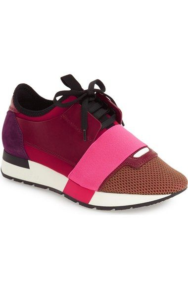 ffdab7aaf34 BALENCIAGA Mixed Media Sneaker (Women).  balenciaga  shoes ...