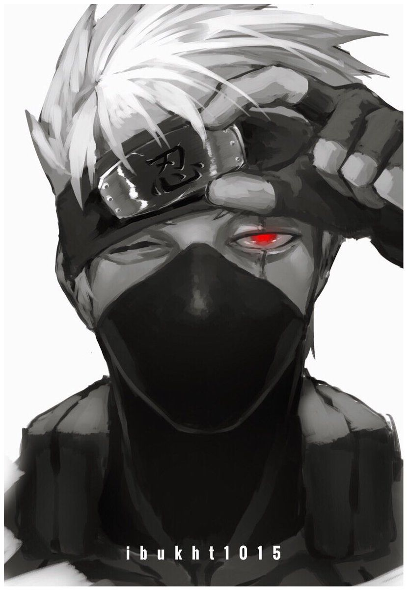 Kakashi Hatake [Naruto: Shippuden] #Kakashi #Kakashi_Hatake #Naruto #Shippuden #Naruto_Shippuden #Anime #Anime_Art #FanArt #Art
