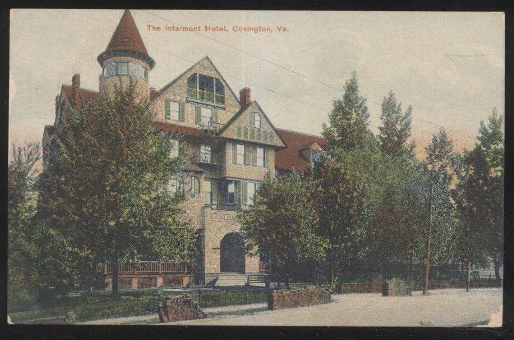 http://www.ebay.com/itm/Postcard-COVINGTON-Virginia-VA-Intermont-Hotel-view-1907/321196914786?_trksid=p2047675.c100005.m1851