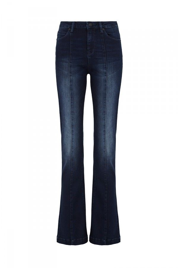 With One Mind Aud240 Flared Jeans Sass Bide Lyda Vega Prefall 2016 With Images Latest Fashion Trends Fashion Online Clothing