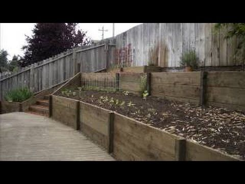 How To Build A Retaining Wall For Cheap [Garden Retaining Wall .