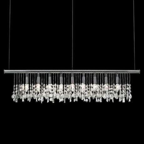 James R Moder Broadway Collection Crystal Bar Chandelier