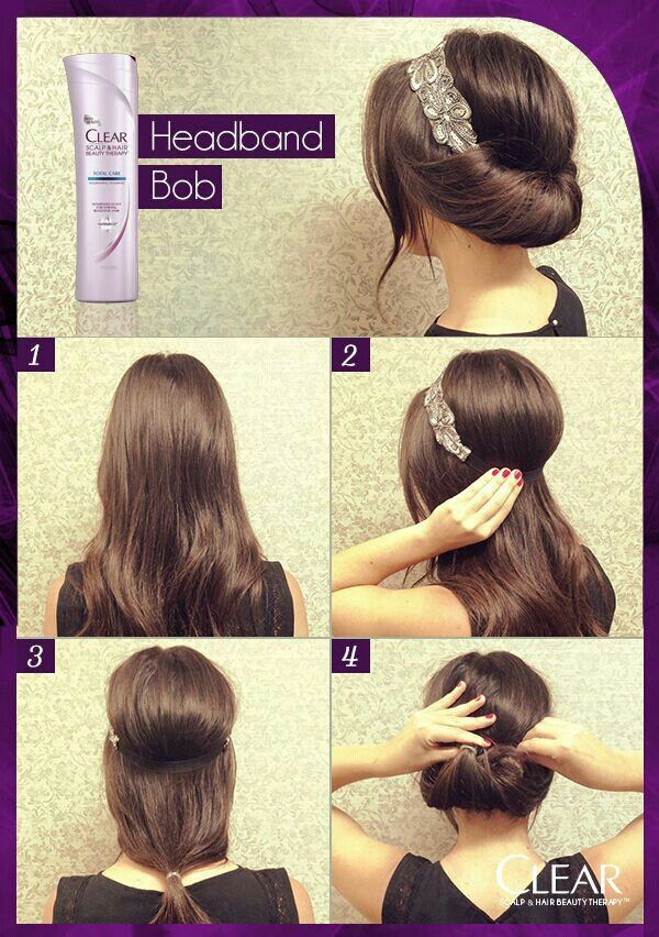 How To Make An Easy Hair Style How Tos In 2018 Pinterest Hair