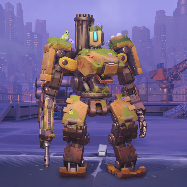File Bastion Skin Overgrown Png Overwatch Wiki Overwatch Bastion Overwatch Overwatch Robot