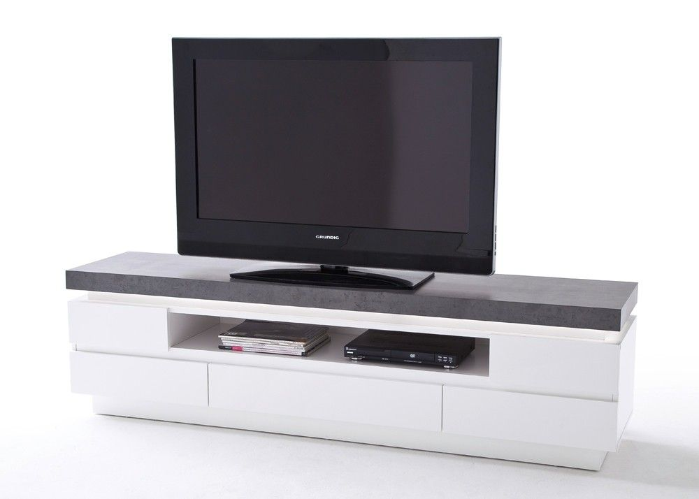die besten 25 lowboard wei matt ideen auf pinterest tv m bel wei wei tv stand und tv. Black Bedroom Furniture Sets. Home Design Ideas