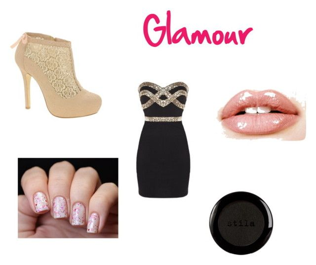 """Glamour"" by andrea-michelle99 ❤ liked on Polyvore featuring ASOS and Stila"