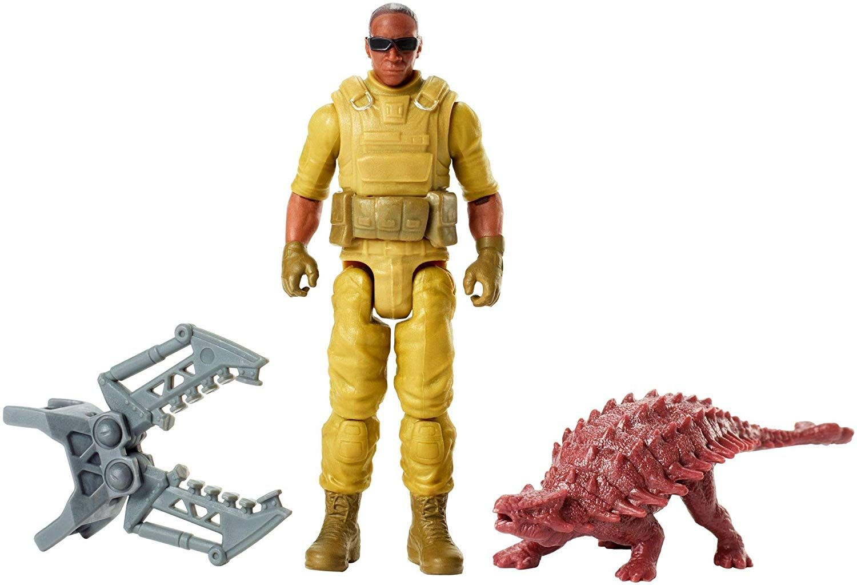 Jurassic World Fallen Kingdom Zia /& Mercenary 2018 Action Figure Dinosaur