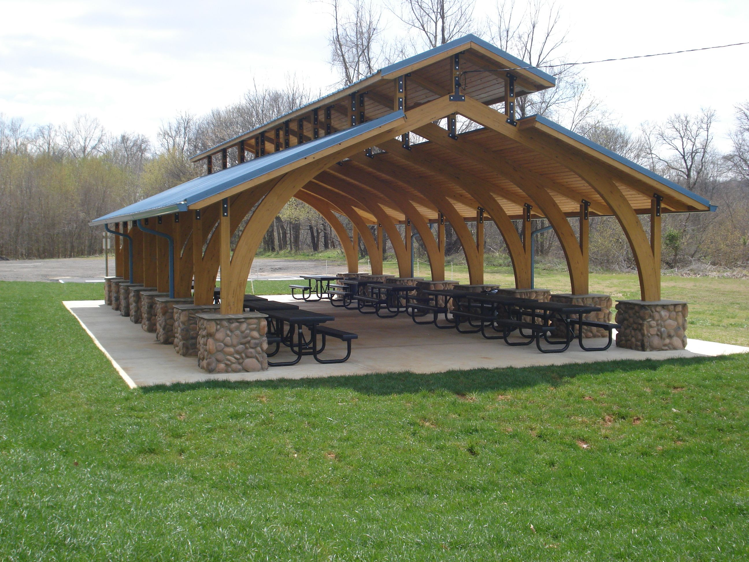 Picnic shelter plans view all shelter photos rent a for Small garden shelter