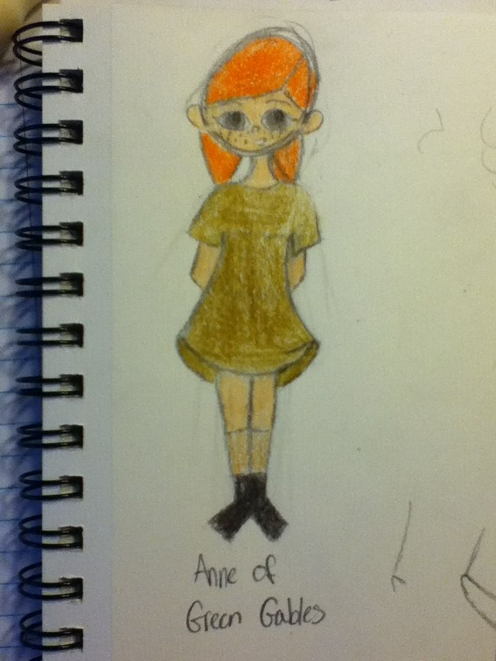 Anne of Green Gables by Nadia Cox :o). Please like, do not repin.