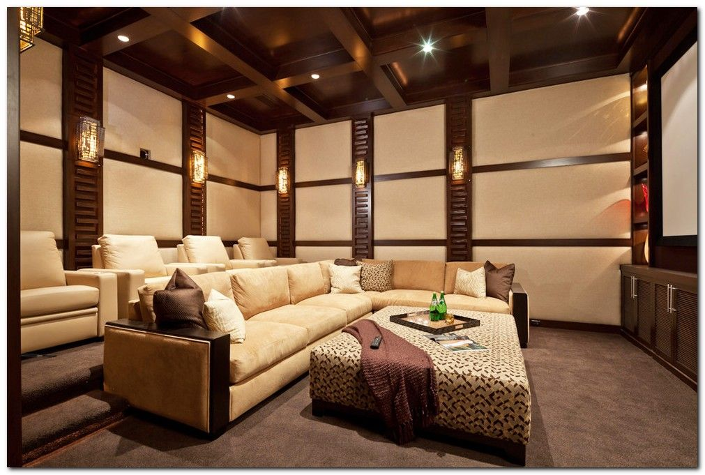 50 Tiny Movie Room Decor Ideas Home Theater Design Media Room