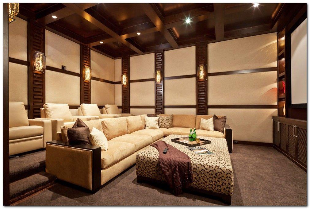 50 Tiny Movie Room Decor Ideas Home Theater Design Media Room