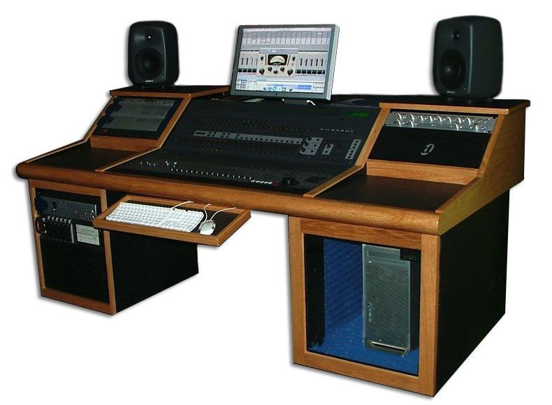 recording desk For the Home Pinterest Desks Studio desk and