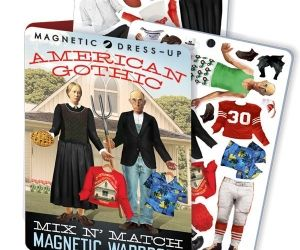 American Gothic Dress Up Set. Perform your own makeover of the figures from Grant Wood's iconic 1930 painting with nearly limitless mix-and-match options. - See more at: http://spenditonthis.com/cat-13-fashion-newest.html#sthash.AJPrXhLs.dpuf