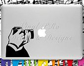 For the photographer. Mac decal.