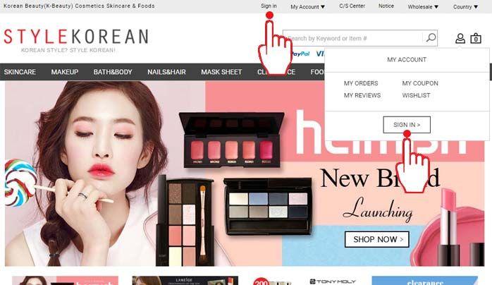 korean beauty online