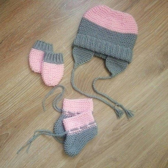 Hand knitted baby soft hat and kid socks knitted hat knitted socks cotton baby  hat cotton socks cott ccb92551ac7