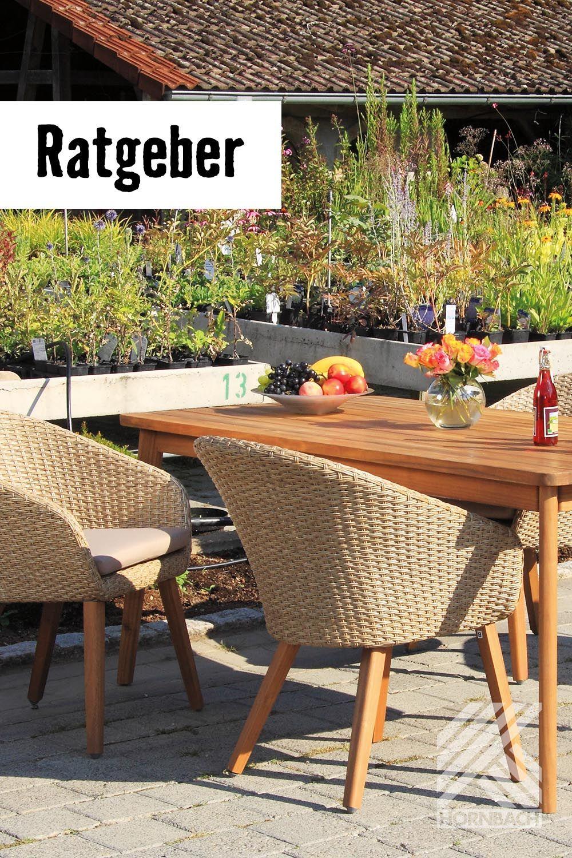 Mobel Fur Garten Balkon Ratgeber Hornbach Diy Gartenmobel Garten Gartenmobel