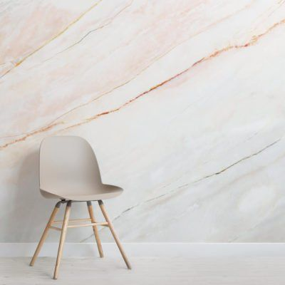 Blush Pink Fade Marble Wallpaper | Murals Wallpaper