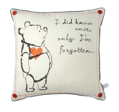Disney Winnie The Pooh Pillow I Did