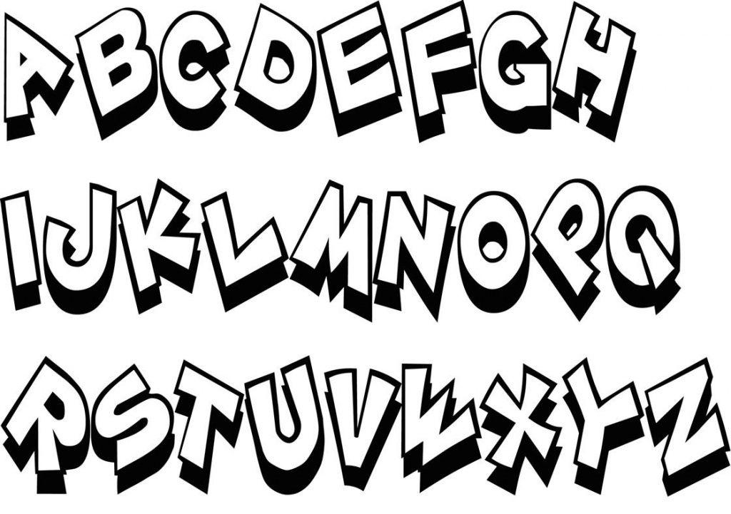 Buchstaben ausmalen: ✎ Alphabet Malvorlagen A-Z | Malbuch ...