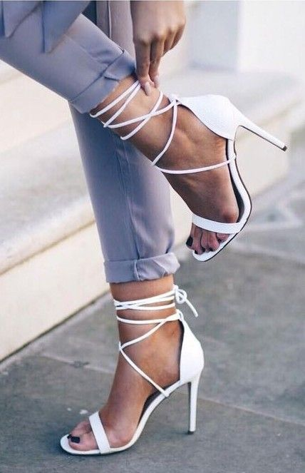 825e087fbe477a White Lace Up Heels Source