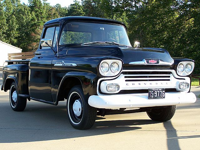 1958 Chevrolet Apache For Sale Classic Pickups Pinterest