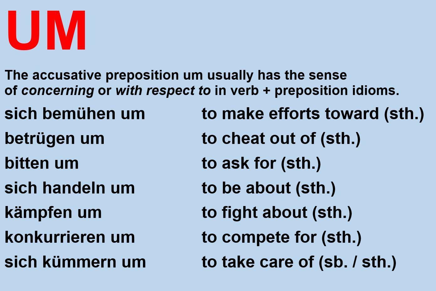 Pin Von Catherine Hanselmann Auf Verb Präposition Idiome Deutsch Lernen Deutsch In Englisch Englisch Lernen Kostenlos