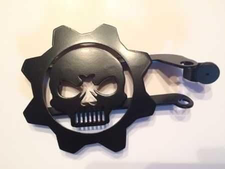 Skull And Gear Foot Peg Jeep Mods Jeep Parts Jeep