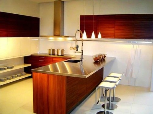 cocinas con islas para espacios pequeños - Buscar con Google ...