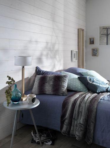 Parement bois blanc Imberty en aspect brossé pour une vraie douceur ...