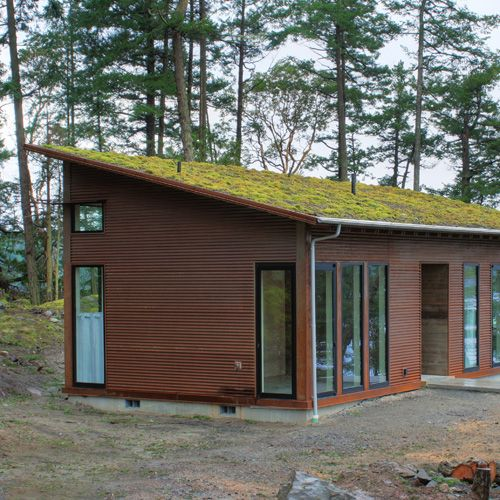 In Through The Outdoors Jas Design Build Building Design Earth Homes Modern Shed