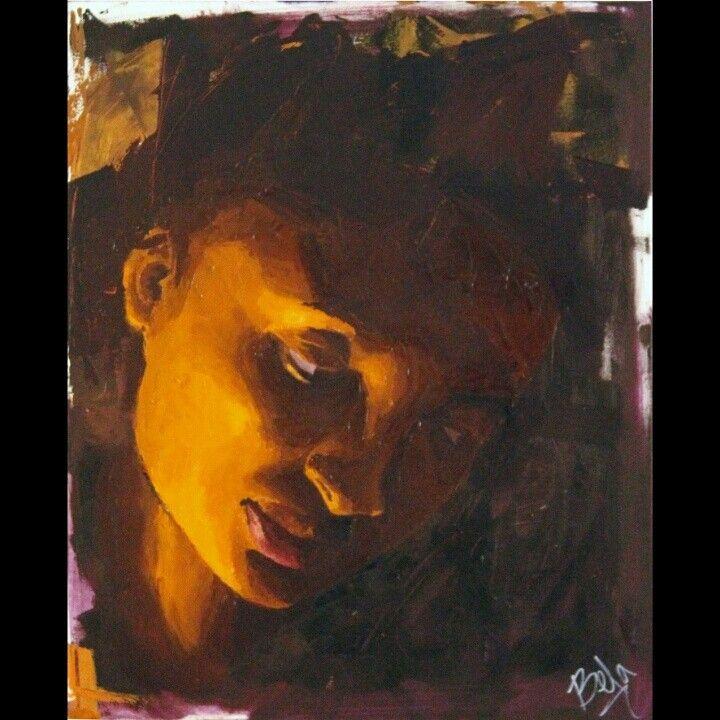 Portrait oil painting by Belinda Camacho