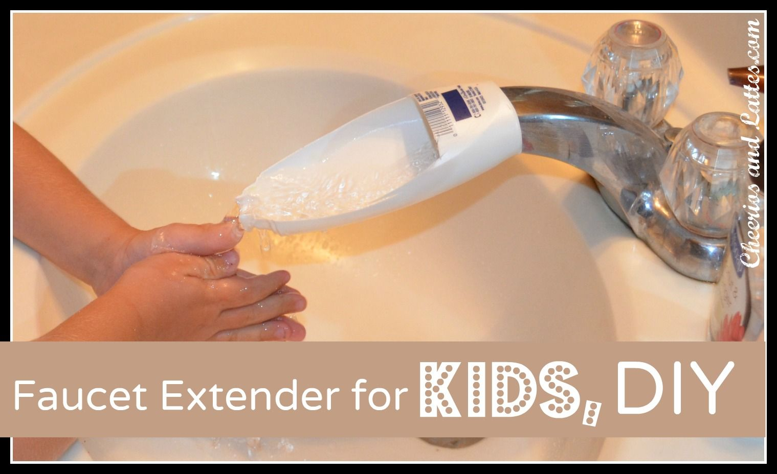 Faucet Extender for Kids, DIY this is a Mackenzie original over at ...